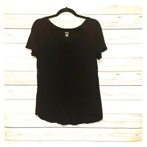 Women's Large Black Top by A.N.A